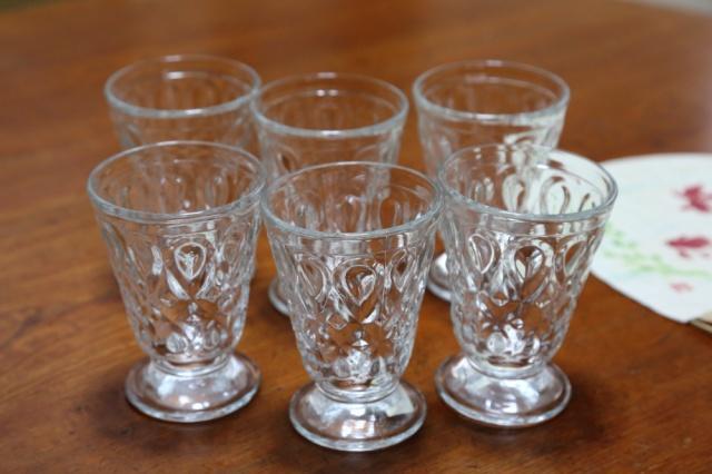 いただきもの・その4 昭和なグラス