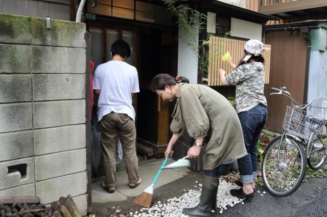 掃除の助っ人