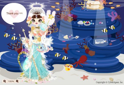 プーペガール人魚姫画像