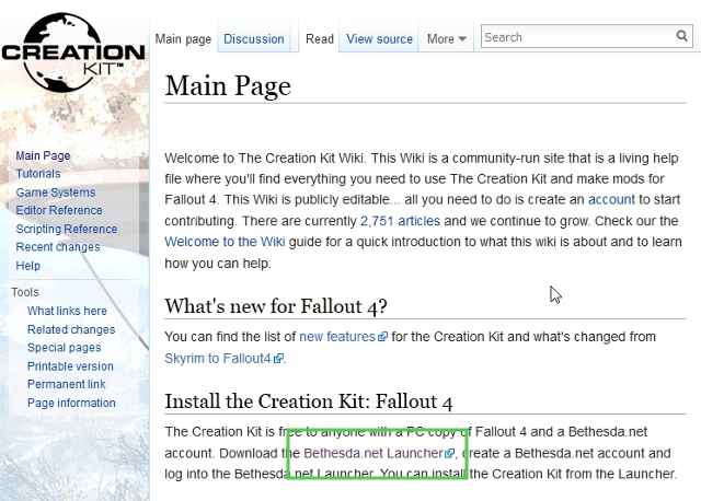 Fallout 4 Creation Kit Download