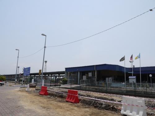 意外と小さいバタワース鉄道駅
