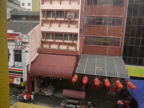 ブティックホテル窓からの風景