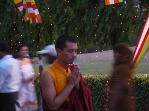 チベット僧院のお坊さん