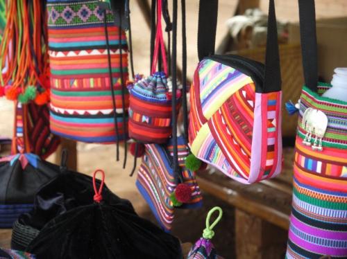 リス族の民芸品たち