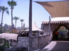 ジュメイラビーチホテルからの入り口