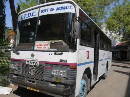 エローラの時のバス