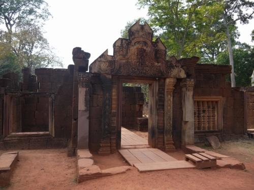 Banteay Sreiの正面