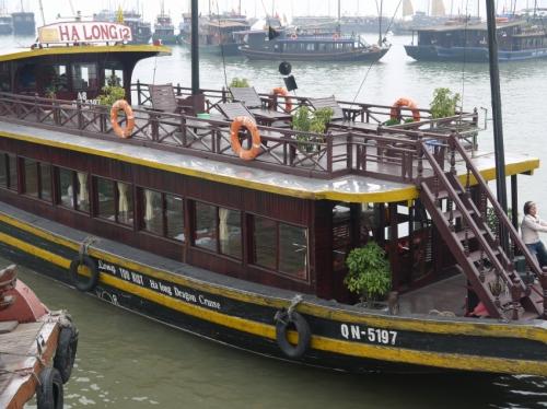 ハロン湾船