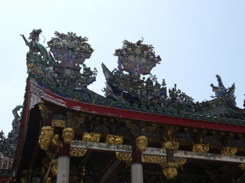クー・コンシの屋根