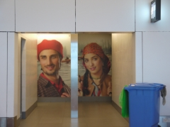 空港のトイレ2