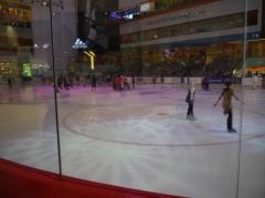 スケート場。。。