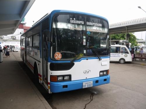 ビエンチャンからのバス