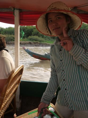 ボートからボートへ・・・!