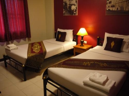 カオサンパレスホテルの部屋