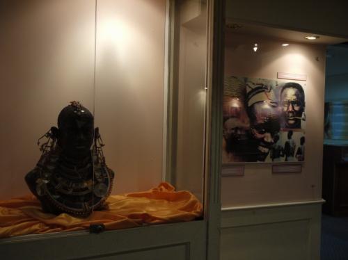 民族と美の博物館内部